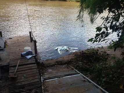 Idoso desaparecido durante pescaria é encontrado morto às margens de rio