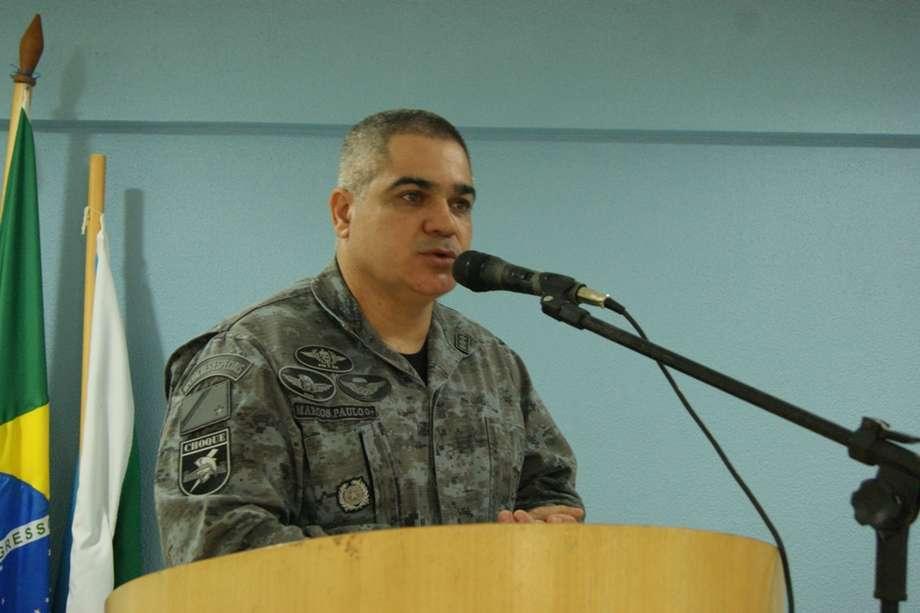 Marcos Paulo Gimenez tem 25 anos de seviço na Polícia Militar. (Foto: Divulgação/Sejusp)