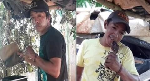 Família publicou fotos em redes sociais durante buscas (Foto/Reprodução)