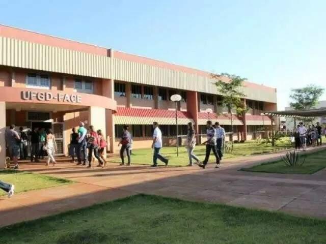 Sede da UFGD, em Dourados (Foto: Divulgação)