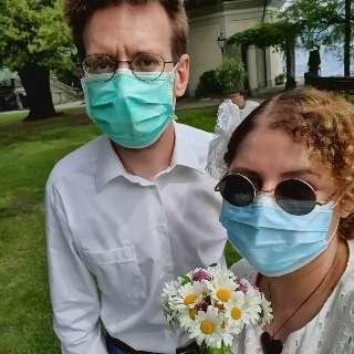 Amor de internet fez Ana e Christian casarem em 10 minutos na Itália