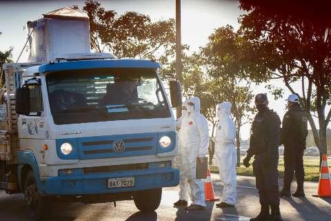 """Barreira sanitária """"rastreia"""" 8 mil pessoas no primeiro dia sem casos positivos"""
