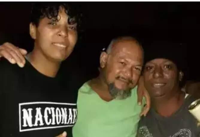 Yasmim, Cleber e Roselaine: família envolvida em assassinato de comerciante. (Foto: Direto das Ruas)