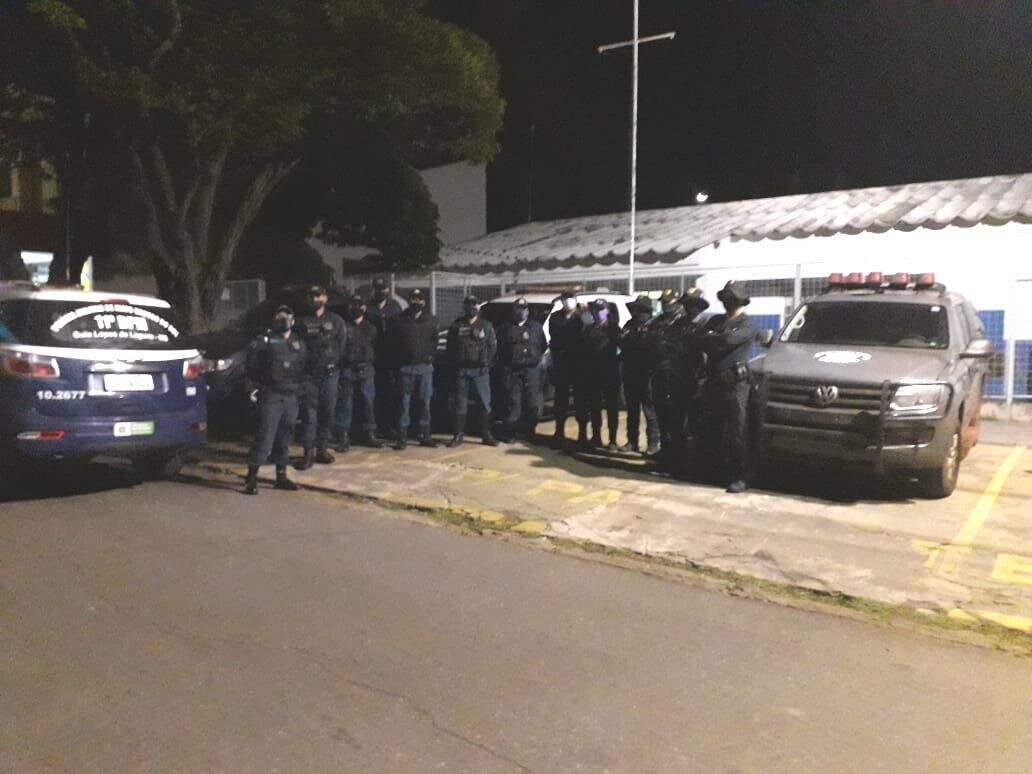 Equipes do Departamento de Operações de Fronteira vão reforçar o patrulhamento em Guia Lopes, Jardim e Bonito. (Foto: Divulgação)