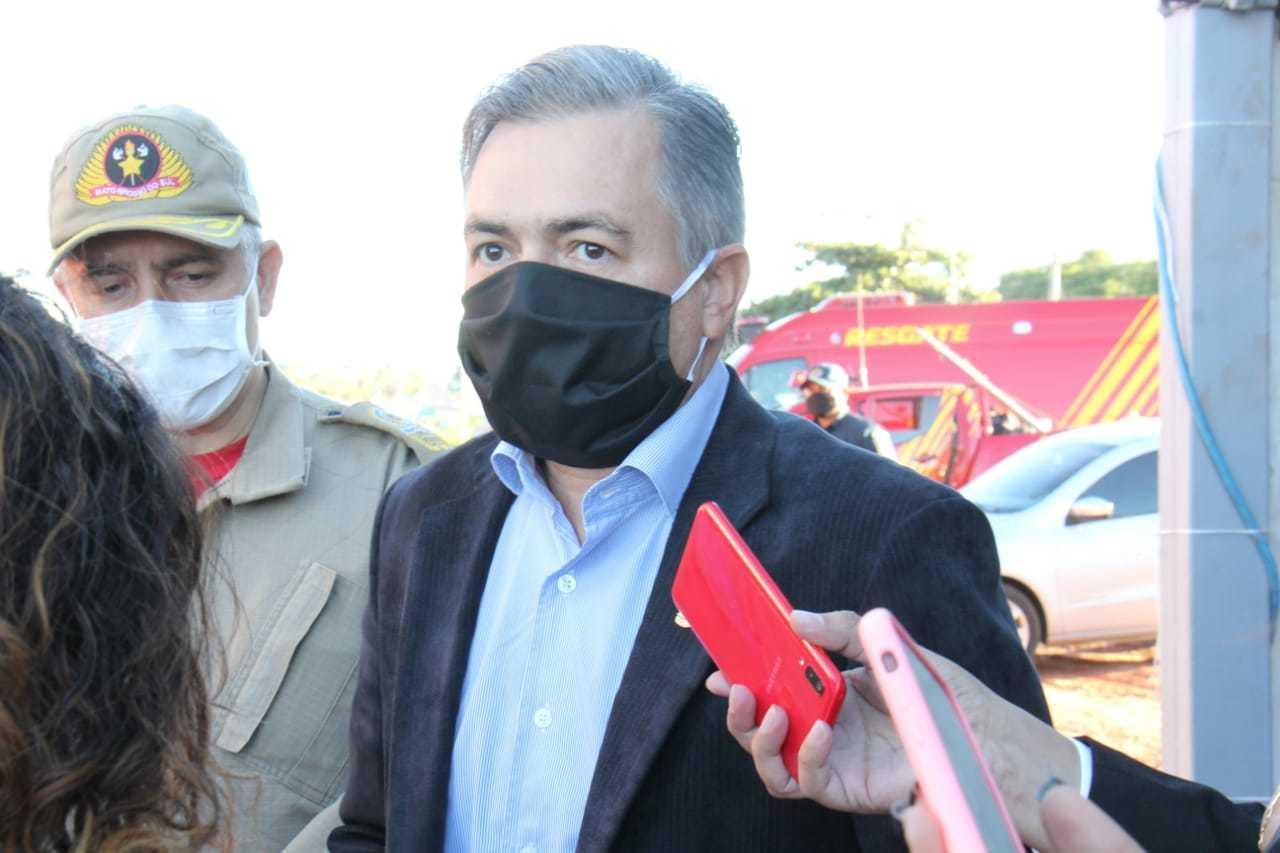 O secretário de Estado de Justiça e Segurança Pública, Antôno Carlos Videira (Foto: Chico Ribeiro/Governo do Estado)