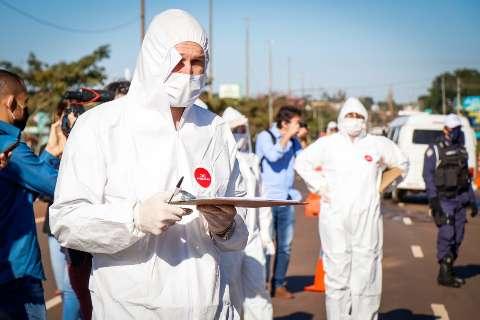 MS tem a 3ª maior taxa de contaminação do novo coronavírus no País