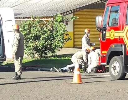 Veículo atropela ciclista em cruzamento da Vila Jacy