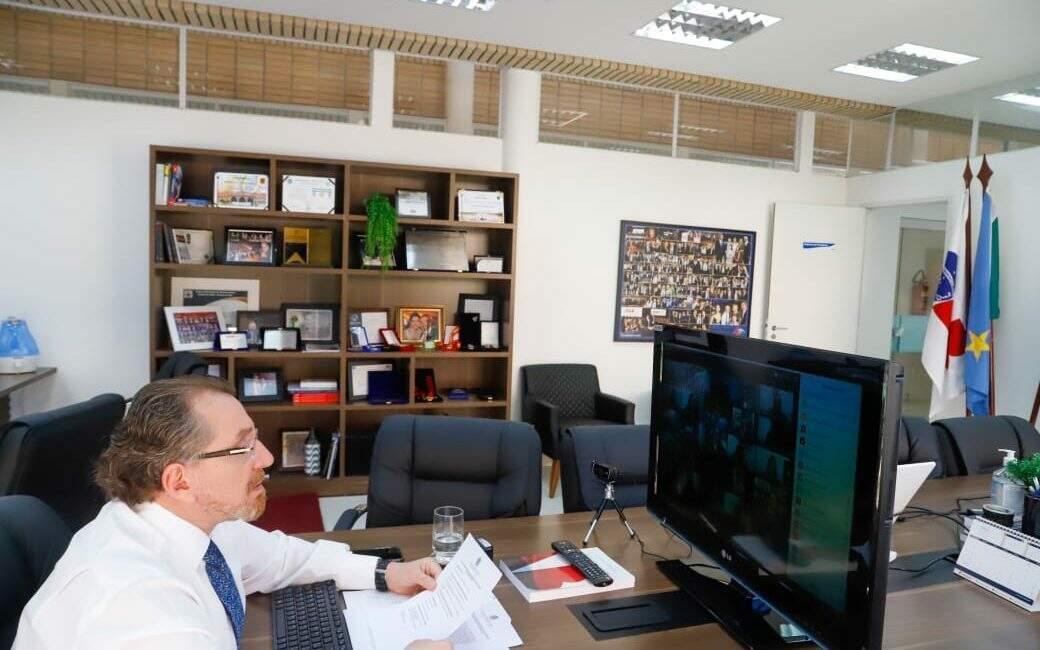 Mansour Elias Karmouche, presidente da OAB-MS (Foto: Divulgação/OAB-MS)