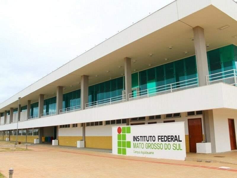 O campus de Aquidauna vai oferecer 80 vagas (Foto: Divulgação/IFMS)