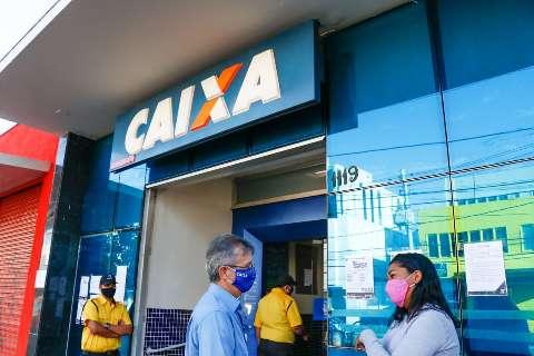 Caixa abre 39 agências para saque do auxílio emergencial