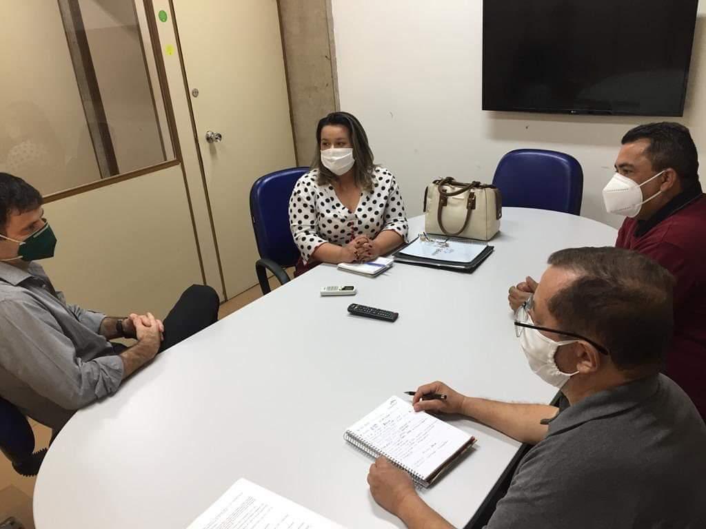 Empresária esteve reunida com superintendente da Semagro esta semana (Divulgação)