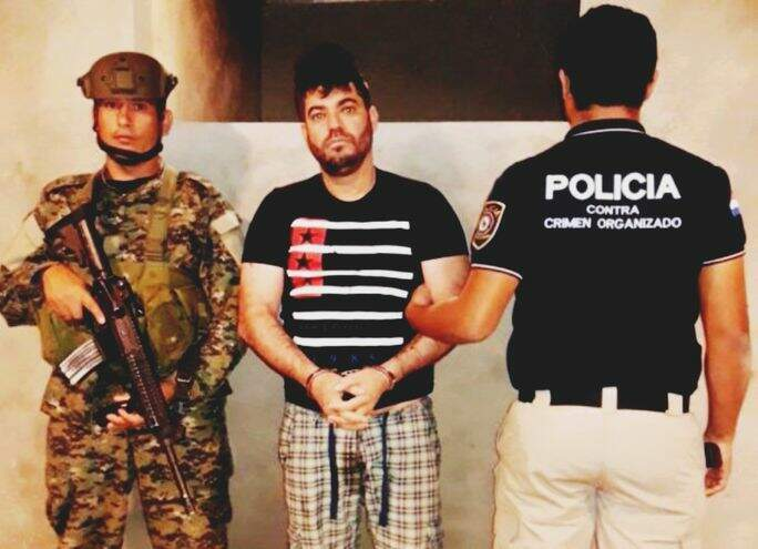 Traficante quando foi preso em outubro de 2018. (Foto: ABC Collor)