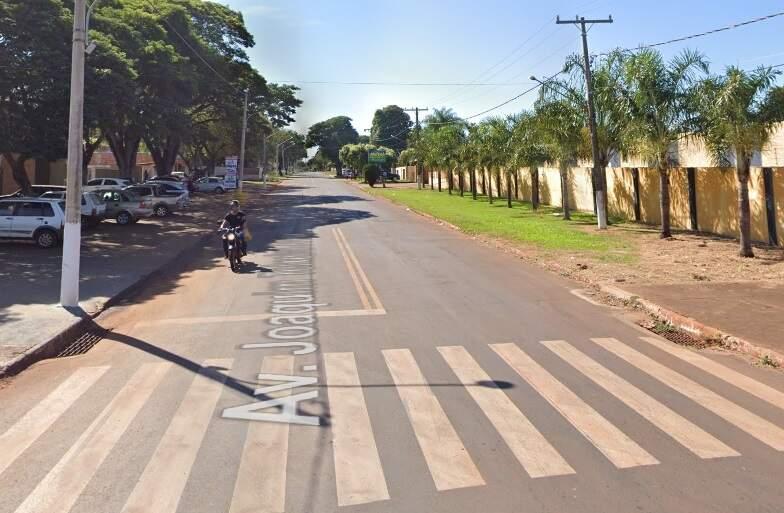 Rua Joaquim Teixeira Alves, no Jardim Clímax, onde ocorreu o acidente. (Foto: Google Street View)