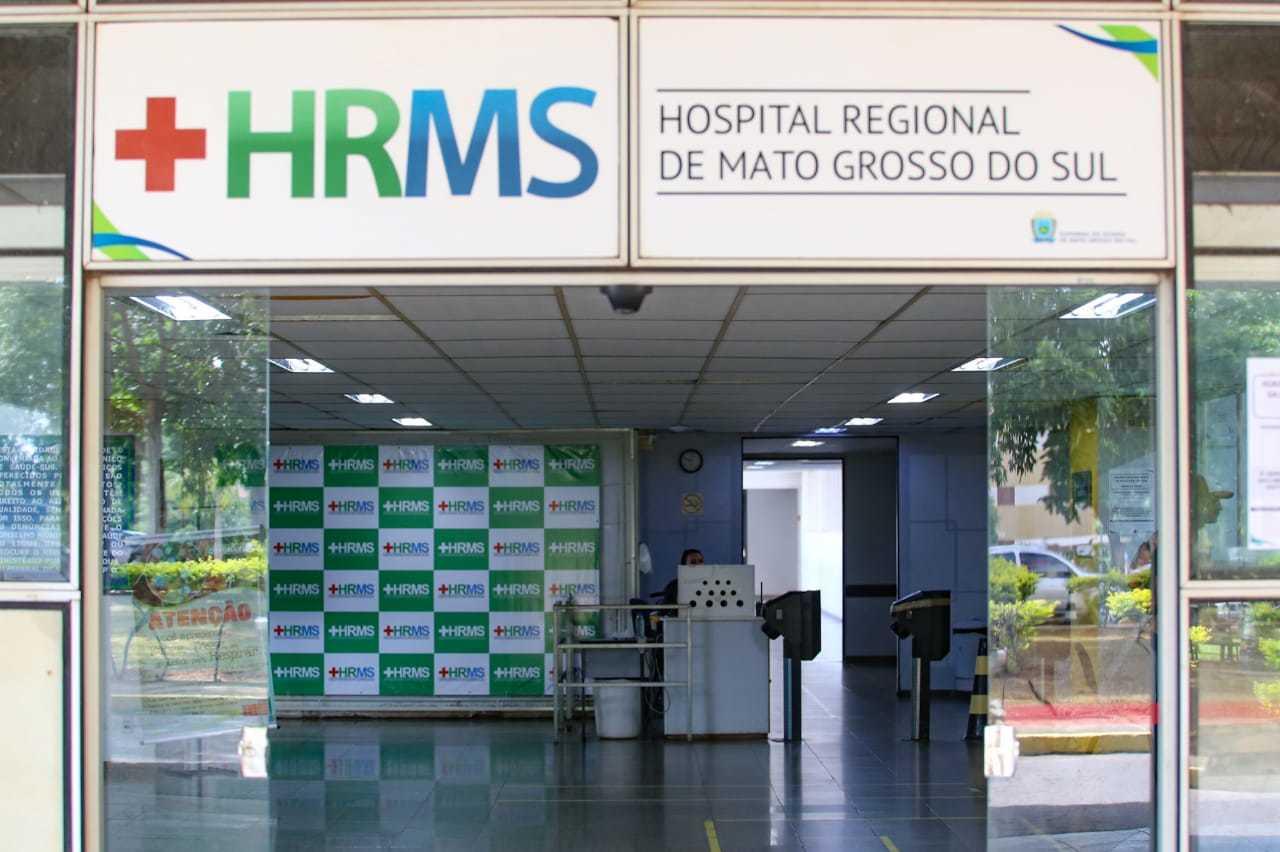 Paciente estava internado no HRMS desde o dia 26 de maio e faleceu neste sábado, 30. (Foto: Arquivo/Campo Grande News)