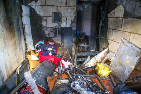 Sem certificado dos bombeiros, condomínio onde incêndio feriu criança leva multa