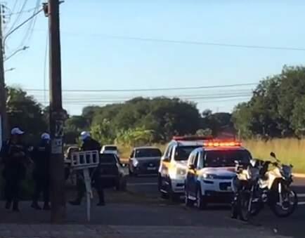 Guarda Municipal foi às ruas em operação contra prática ilegal (Foto: Direto das Ruas)
