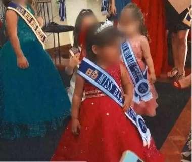 Organização defende que concurso de Miss Baby foi feito sem aglomeração