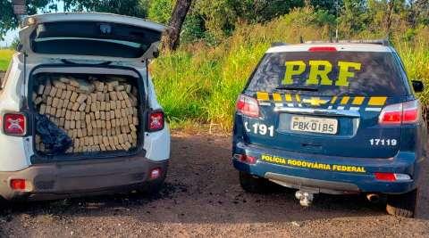 Homem é preso com mais de 1 tonelada de maconha em Jeep Renegade