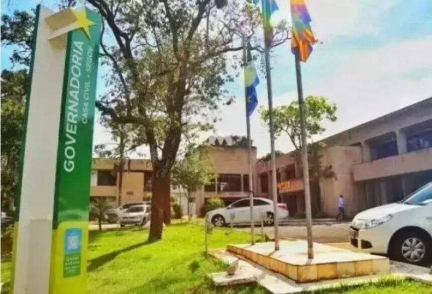 Sede da Governadoria, em Campo Grande (Foto: Divulgação)
