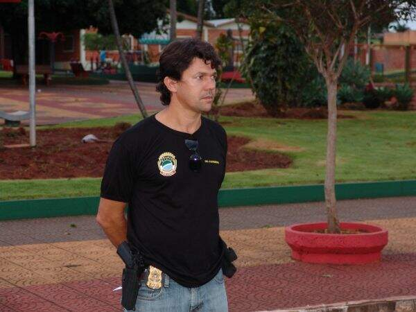 O delegado titular de Cleverson Alves dos Santos. (Foto: Arquivo)