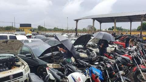Lances em leilão de veículos de circulação podem ser feitos até 23 de junho