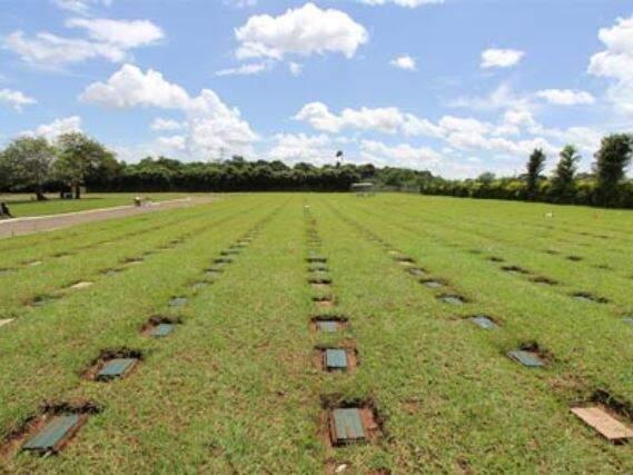 Cemitério Parque Monte das Oliveiras, em Campo Grande (Foto: Divulgação)