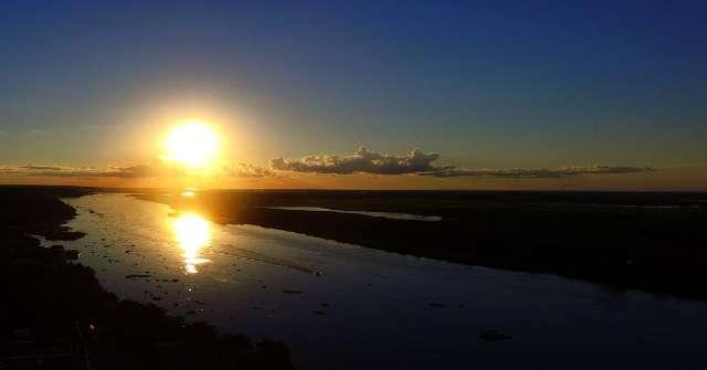 Nível do Rio Paraguai recua mais de 40% e afeta navegabilidade pela hidrovia