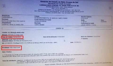 É fake: testes em gerente de UBS com suspeita de covid dão negativo