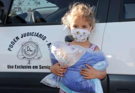 TJMS inicia campanha de arrecadação de agasalho em 27 municípios