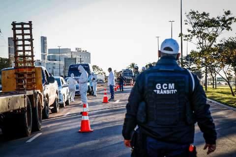 Motorista que passar por uma das barreiras estaduais, não será parado na Capital