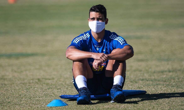 Jean, jogador do Cruzeiro, foi testado positivo para covid (Foto: Cruzeiro/Divulgação)