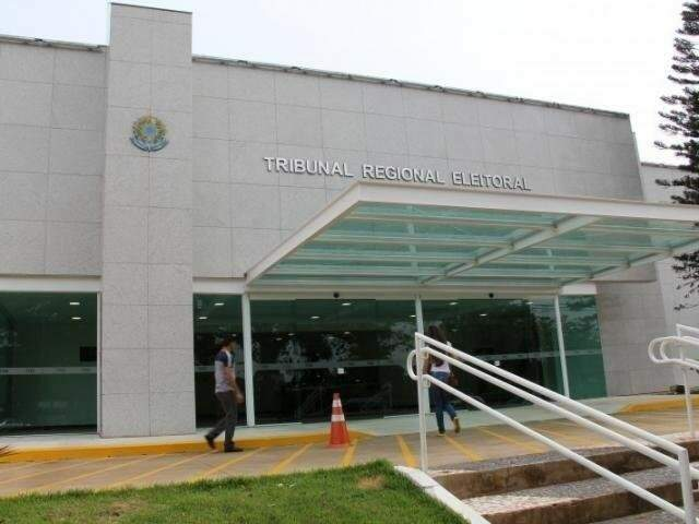 Sede do TRE-MS, no Parque dos Poderes, em Campo Grande. (Foto: Arquivo).