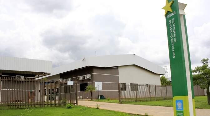 Sede da Agehab, em Campo Grande (Foto: Chico Ribeiro - Governo MS)