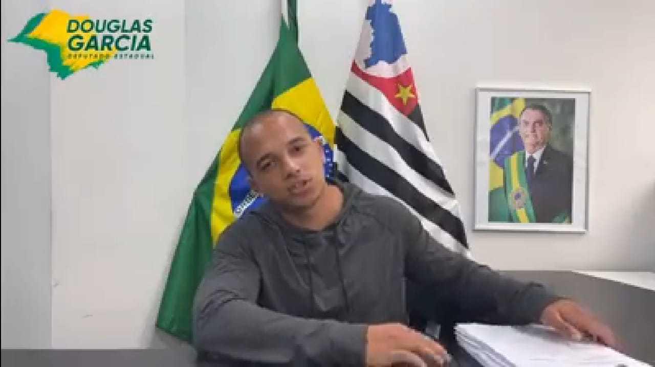 Deputado estadual, Douglas Garcia, do PSL de São Paulo criou a tal lista. (Foto: Reprodução/Facebook)