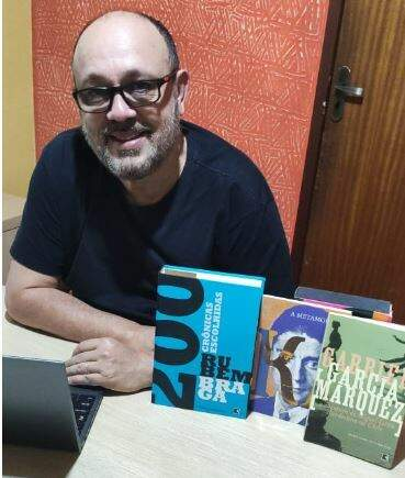 """André Alvez estreia hoje a coluna """"Beba das Crônicas""""."""