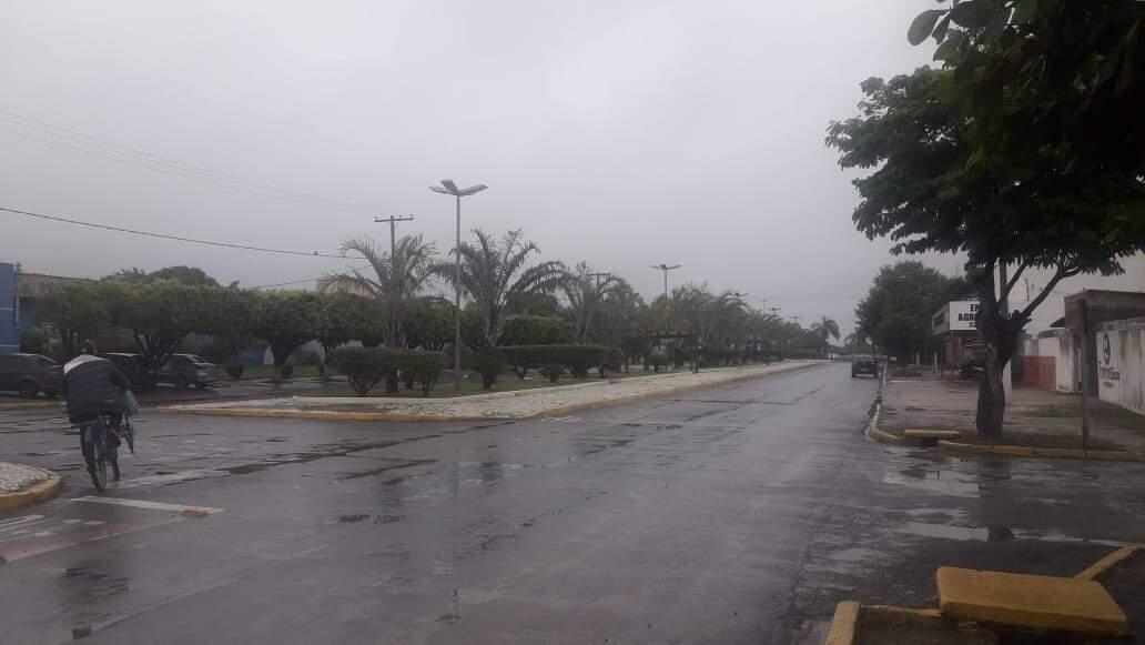 Deve chover durante todo o dia em Porto Murtinho (Foto: Toninho Ruiz)