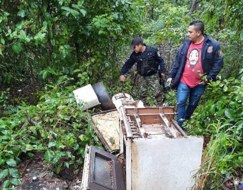 Local onde corpo de fazendeiro brasileiro foi encontrado nesta sexta-feira, no Paraguai (Foto: Última Hora)