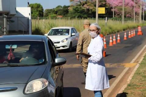 Sem horário prévio, município retoma barreiras sanitárias para conter covid-19