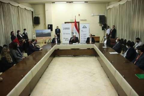 Assinado contrato de projeto de construção da ponte sobre Rio Paraguai