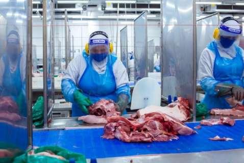 Funcionários de frigoríficos são 65% dos casos de coronavírus em Dourados