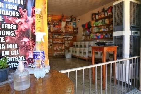 Coronacrise derruba em 12,2% as vendas no comércio varejista do Estado