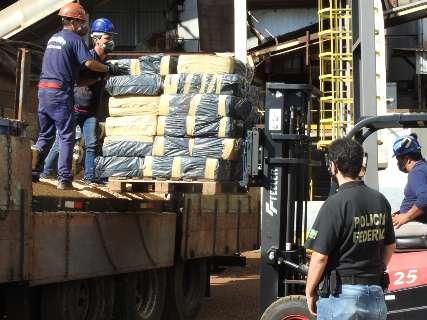 PF faz nova incineração de drogas e chega a 64 toneladas destruídas no ano