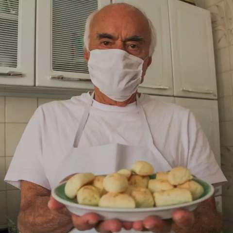Aos 80 anos, advogado vira chipeiro e quer mostrar sabor paraguaio