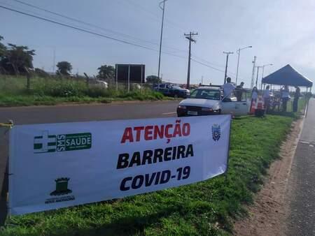 Nem barreiras sanitárias regulares livraram cidade de novas contaminações (Foto: Divulgação/Prefeitura Nova Andradina)