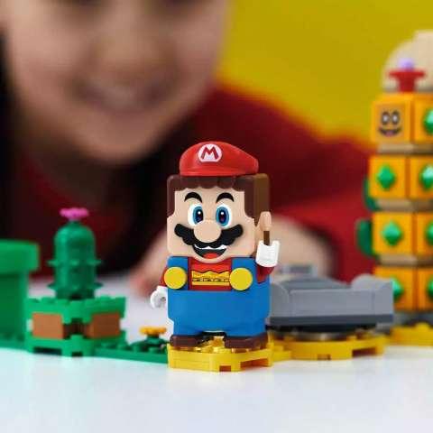Ideal para crianças e adultos, Lego Super Mario chega em agosto