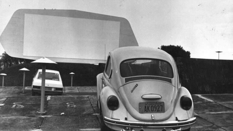 Criado em 1972, o Autocine funcionou durante 17 anos no mesmo local, e já estava há três décadas desativado.