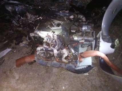 Piloto morre em queda de avião brasileiro na fronteira com MS