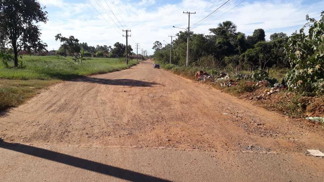 Avenida Leão Zardo está incompleta e moradores reclamam (Foto: Direto das Ruas)