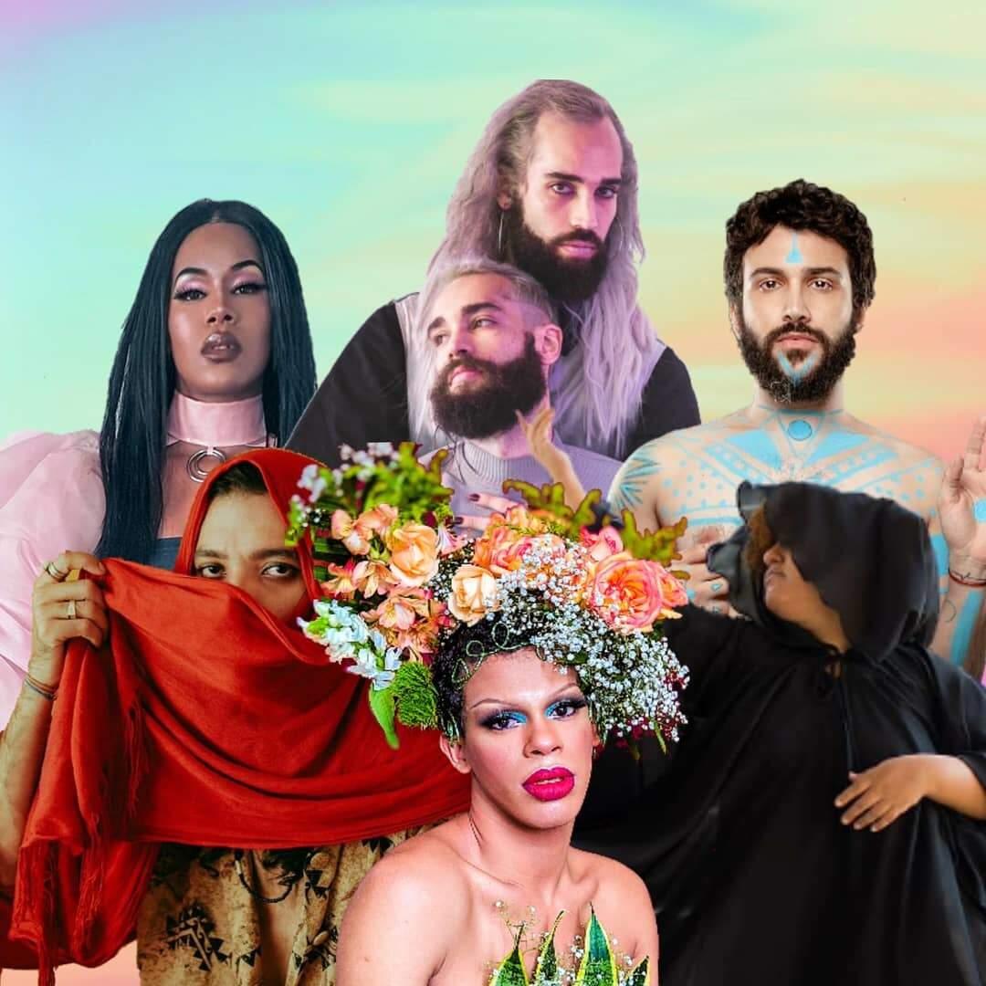 Dia Mundial do Orgulho LGBT, no domingo (28) será repleto de lives (Foto: Divulgação/Orgulho e Poesia)