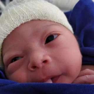 Louise descobriu gravidez já no trabalho de parto com 35 semanas